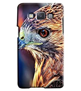 Clarks Eagle Eye Hard Plastic Printed Back Cover/Case For Samsung Galaxy A7