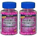 Diphenhydramine HCI 25 Mg - Kirkland Brand - Allergy Medicine and AntihistamineCompare to Active Ingredient of Benadryl® Allergy Generic 1200 count