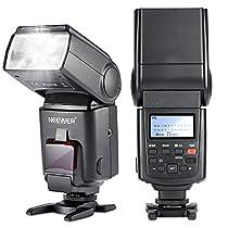 Neewer® NW680/TT680 HSS Speedlite Flash E-TTL Camera Flash for Canon 5D MARK 2 6D 7D 70D 60D 50DT3I T2I and other Canon DSLR Cameras