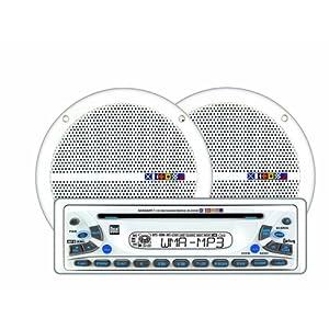 dual mxcp51 200w marine audio cd player am fm receiver w 6. Black Bedroom Furniture Sets. Home Design Ideas