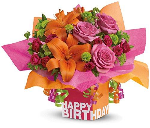 Birthday Flowers – Teleflora's Rosy Birthday Present