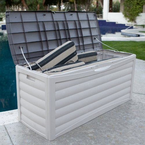 This Is The BEST Patio Deck Storage Box In This Line, In Terms Of Itu0027s 103  Gallon Capacity. For Barbecue Supplies, Including The Ability To Stock Up  On ...