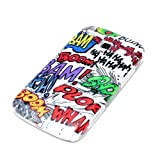 DeinPhone Protective Mobile Phone Hard Case Bumper for Samsung Galaxy Ace 2 in Comic Boom Design