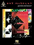 Pat Metheny - Question and Answer (Guitar Recorded Version) (Guitar Recorded Versions) by Metheny, Pat (2003) Sheet music