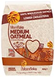 Mornflake Medium Oatmeal Stoneground 500 g (Pack of 12)