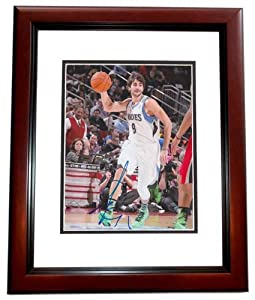 Ricky Rubio Autographed Hand Signed Minnesota Timberwolves 8x10 Photo - MAHOGANY... by Real Deal Memorabilia