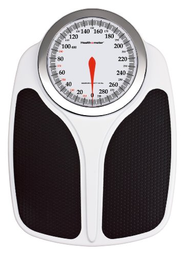 Health o meter Oversized Dial Scale with Easy to Read Measurements and X-Large Platform (Scale Dial Bathroom compare prices)