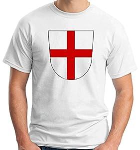 T-Shirtshock - T-shirt TSTEM0036 freiburg coat of arms