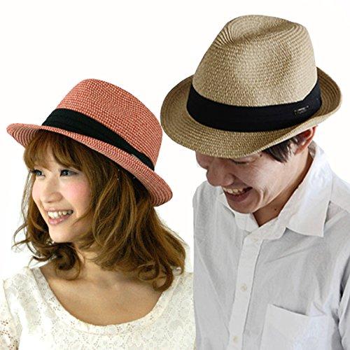 (エッジシティー)EdgeCity 折りたたみ可能! 大きいサイズ 大きい メンズ レディース 麦わら帽子 ストローハット