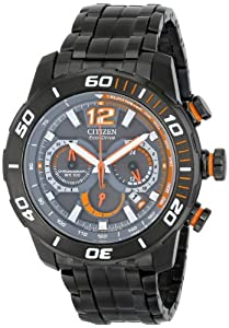 """Citizen Men's CA4087-53H """"Amazon Exclusive"""" """"Primo Stingray 620"""" Gray Stainless Steel Watch"""