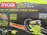 Ryobi 40-Volt Cordless Hedge Trimmer 24