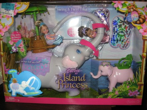 Barbies as The Island Princess Swing & Twirl Tika Kelly Set - Buy Barbies as The Island Princess Swing & Twirl Tika Kelly Set - Purchase Barbies as The Island Princess Swing & Twirl Tika Kelly Set (Mattel, Toys & Games,Categories,Dolls,Playsets,Fashion Doll Playsets)