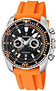 Festina-F16574-Orange-Polyurethane-Quartz