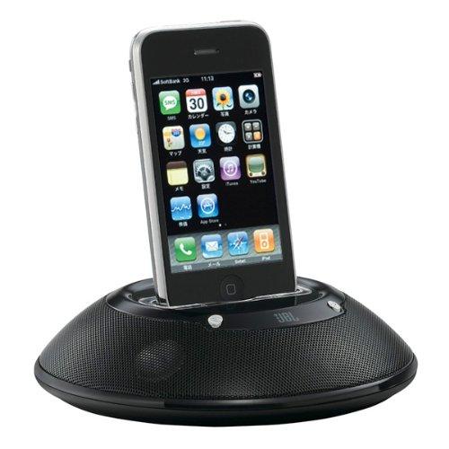 【アウトレット品】 JBL 高音質iPod・iPhone用Docスピーカー ON STATION MICRO II  ブラック ONSTATIONMICRO2BLKJ