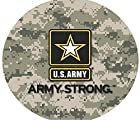 PLUS TCP1649 35 Black US Army Strong Spare Black Vinyl Tire Cover