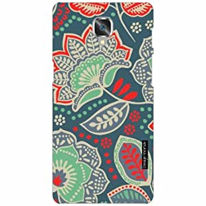 Design Worlds - OnePlus 3 Designer Back Cover Case - Multicolor Phone Cover