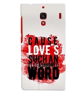 printtech Cause Quote Back Case Cover for Xiaomi Redmi 1S::Xiaomi Redmi (1st Gen)