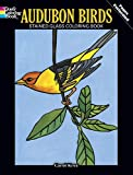 img - for Audubon Birds Stained Glass Coloring Book (Dover Nature Stained Glass Coloring Book) book / textbook / text book