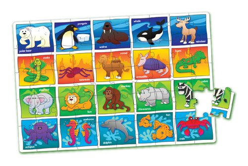 Cheap Fun The Learning Journey Puzzle Doubles Let's Learn the Animals Floor Puzzle (B000SJONJC)