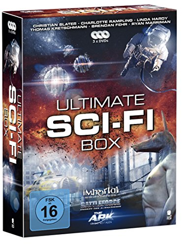 Ultimate Sci-Fi Box - Boxset mit 3 SciFi-Hits: Battleforce, The Ark, Immortal [3 DVDs]