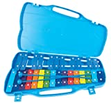 Performance Percussion G4-A6 27 Note Glockenspiel with Coloured Keys