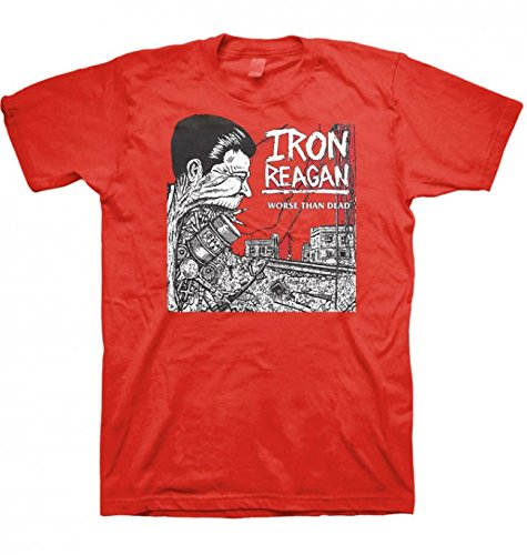 Iron Reagan -  T-shirt - Uomo rosso XX-Large