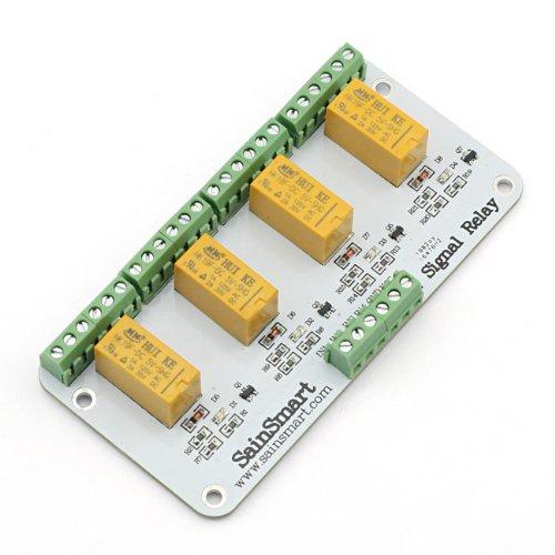 Sainsmart 4 Channel Signal Relay For Arduino Uno R3 Mega2560 Mega1280