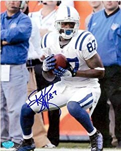 Reggie Wayne autographed 8x10 Photo (Indianapolis Colts) Image #3 by Autograph Warehouse
