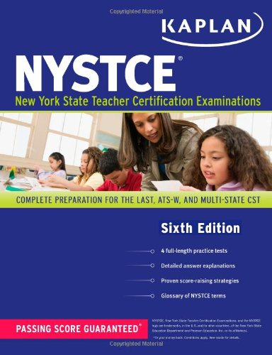 Kaplan Nystce: Complete Preparation For The Last, Ats-W, And Multi-Subject Cst (Kaplan Test Prep) front-998139