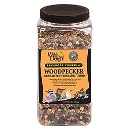 Wild Delight 364040 Advanced Formula Woodpecker Nuthatch N Chickadee Food, 4 Pounds