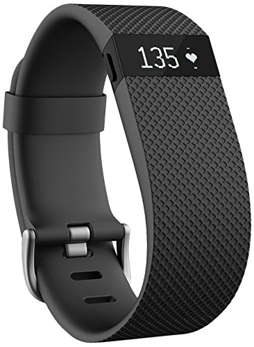Fitbit Charge HR Wireless Activity Wristband (Black, Large (6.2 - 7.6 in)) (What Is The Tracking Number compare prices)