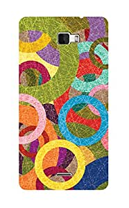 ZAPCASE PRINTED BACK COVER FOR COOLPAD DAZEN 1 - Multicolor