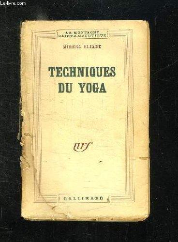 Techniques du Yoga francais