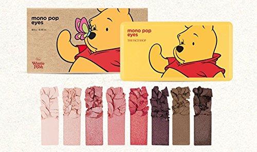 [期間限定 ディズニーコラボ] THE FACE SHOP Mono Pop Eyes 9.5g/ザフェイスショップ モノ ポップ アイズ 9.5g (#3 Pooh:Eyes)