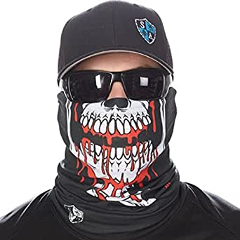 Sa company men 39 s spf joey face shield fits for Sa fishing face shield review