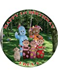 IN THE NIGHT GARDEN - DESIGN 2 - PERSONALISED 7.5