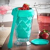 VonShef Summer Slushie Maker Slushy Cup - Teal