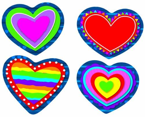 Carson Dellosa Hearts Stickers (168096)
