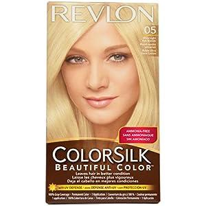 Revlon Colorsilk Permanent Color, Ultra Light Ash Blonde 05