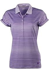 Nike Women's Dri-Fit Sport Novelty Golf Polo Shirt-Hyper grape