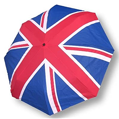Galleria Auto Folding Art Umbrella - Union Jack