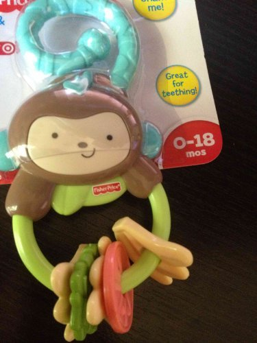 Baby Banana Teether front-158006