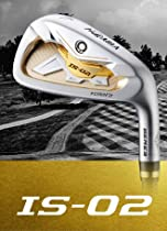 Honma Beres Japan IS-02 (#5-11) Iron Set 7 clubs ARMRQ6 49 Regular 2-Stars Grade Carbon shaft 2012 model