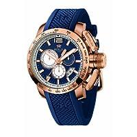[メタル.シーエイチ]METAL.CH 腕時計 クロノスポーツ ブルー 4353-44 [正規輸入品] 4353-44 メンズ 【正規輸入品】