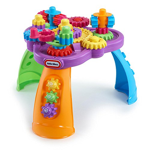 Little Tikes Giggly Gears Twirltable Interactive Baby Activity Center