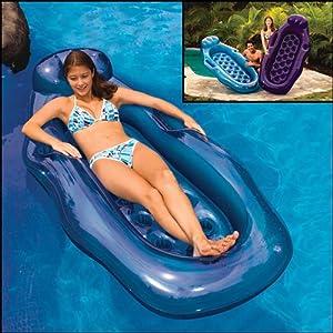 Poolmaster Riviera Wet/Dry Sun Lounge