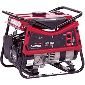 1500 Watt 99cc Gas Powered Portable Generator at Amazon.com