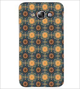 PrintDhaba Pattern D-5388 Back Case Cover for SAMSUNG GALAXY E7 (Multi-Coloured)