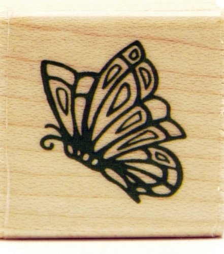 Rubber Stampede - Small Butterfly Stamp