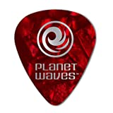 Planet Waves Médiators Planet Waves rouges, pack de 25, Extra-Heavy